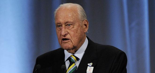 RÍO DE JANEIRO, BRasil.- Havelange lideró la FIFA durante décadas.