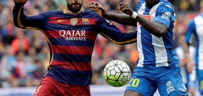 BARCELONA, Ecuador.- Felipe Caicedo se lesionó en el último encuentro ante el FC Barcelona. Foto: EFE.