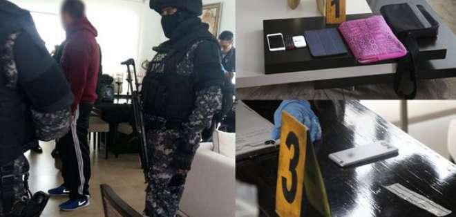 El exgerente de Petroecuador fue detenido en Quito. Foto: Archivo / @FiscaliaEcuador