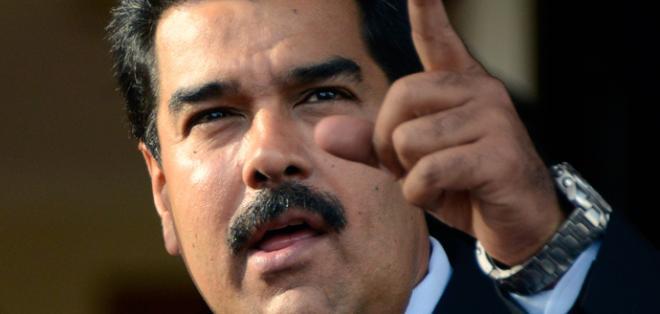 """""""Almagro go home, Almagro go home"""", dijo el mandatario desde el palacio de Miraflores, en Caracas. Foto: Archivo de AFP"""