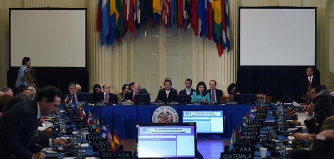 El instrumento jurídico puede llevar a la suspensión de Venezuela del ente. Foto: Archivo de EFE