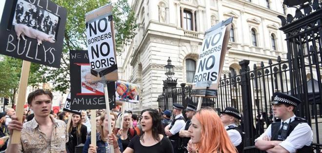 """LONDRES, Reino Unido.-  """"Aun no me puedo creer que la gente haya apoyado la decisión de salir de la Unión basándose en promesas vacías"""", aseguró Mick Williams."""