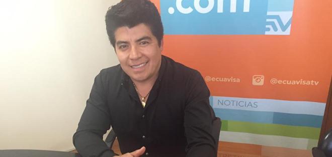 GUAYAQUIL,Ecuador.- El cantante dijo sentir desde pequeño gran atracción hacia la música y el mundo del espectáculo. Foto: Ecuavisa.com.