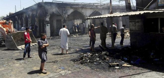 Ataque del EI a los chiíes de Irak tras el brutal atentado de Bagdad. Foto: EFE