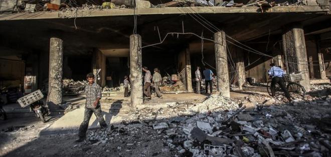 En la ciudad siria Qameshli, un vehículo cargado con explosivos estalló esta mañana. Foto: Archivo / EFE