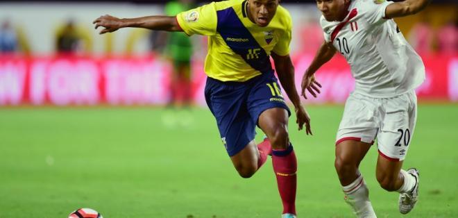 GUAYAQUIL, Ecuador.- Antonio Valencia es el referente de la selección ecuatoriana.