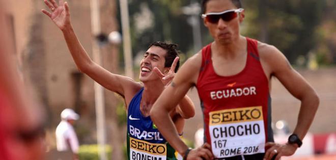 RÍO DE JANEIRO, Brasil.- Chocho era esperanza de medalla para Ecuador.