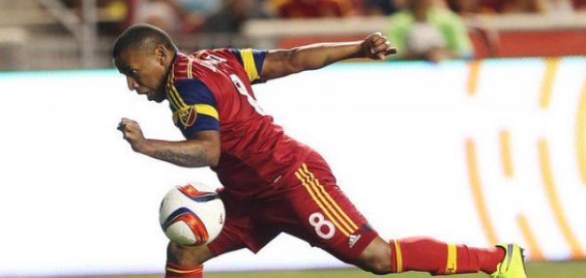 El ecuatoriano Joao Plata marcó un doblete en el empate del Real Salt Lake.