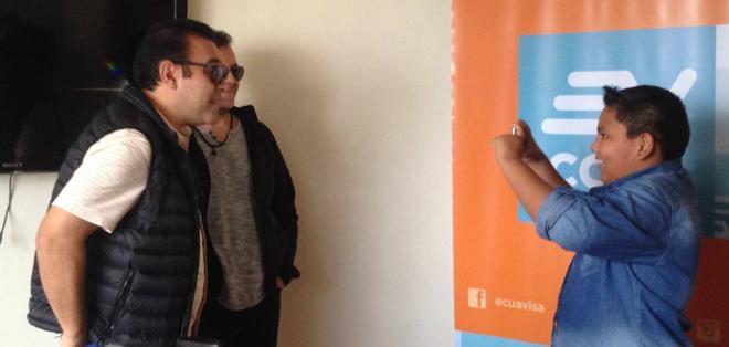 GUAYAQUIL, Ecuador.- Mario Castañeda y René García compartieron con sus seguidores en el videochat de Ecuavisa.com.