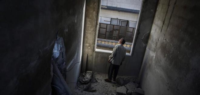 La mitad oriental de Alepo está asediada por el Ejército siria y controlada por la oposición. Foto: EFE