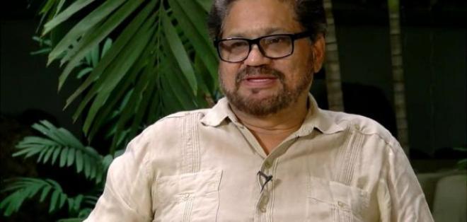 Iván Márquez durante la entrevista que concedió a la BBC en La Habana.