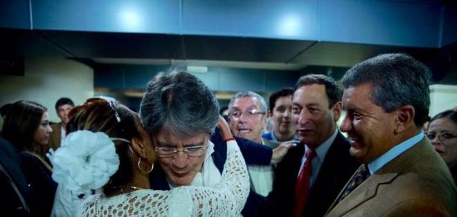 Lasso descartó que el candidato vicepresidencial pudiera venir del movimiento SUMA. Foto: @LassoGuillermo