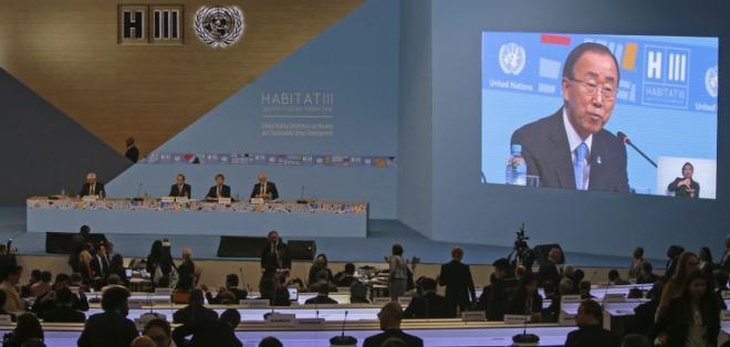 La cumbre Hábitat III culminará este jueves con una ceremonia de clausura.  Foto: AFP
