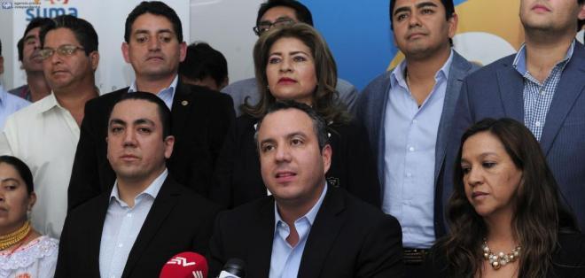 ECUADOR.- Guillermo Celi aclara por qué optaron por apoyar a Guillermo Lasso y no a Cynthia Viteri. Foto: API