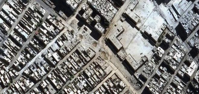 La tregua decretada por Moscú entró en vigencia este jueves en la ciudad siria. Foto: EFE