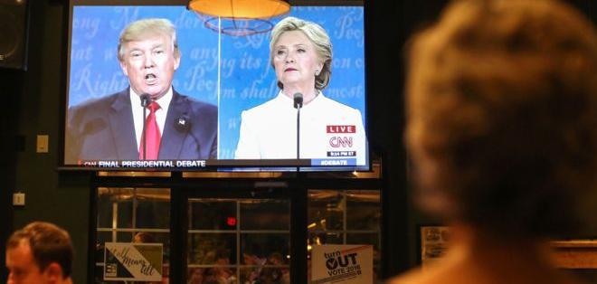 Último debate presidencial en Estados Unidos