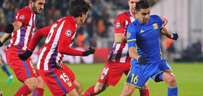 El ecuatoriano Cristhian Noboa fue titular en la derrota del Rostov ante Atlético de Madrid.