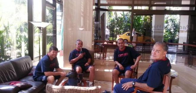 Parte del cuerpo técnico de Paraguay se desplazó a Santa Cruz para que la selección concentre allí.