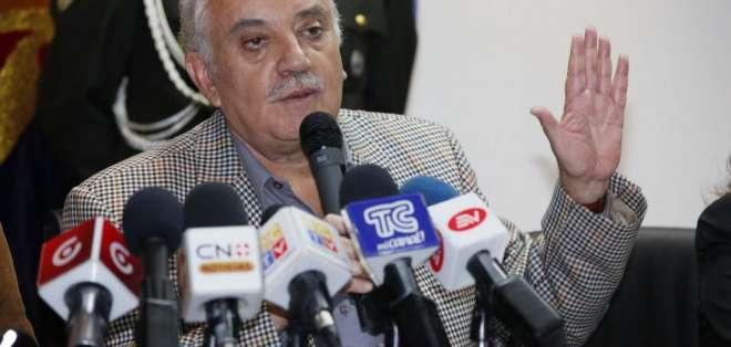 Galo Chiriboga dijo que presentará sus argumentos si Asamblea abre este proceso. Foto: El Ciudadano