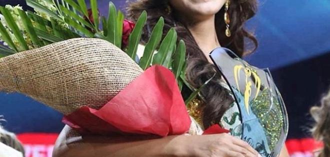FILIPINAS.- Katherine Espín, oriunda de La Troncal, se llevó el máximo título del certamen de belleza. Foto: Twitter