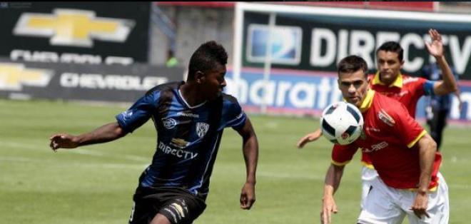 Gabriel Cortez le dio el triunfo de visitante a Independiente del Valle sobre el Cuenca.