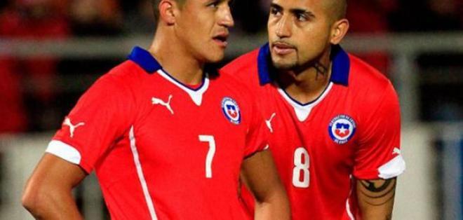 Alexis Sánchez y Arturo Vidal lograron recuperarse y estarán presentes ante Uruguay.