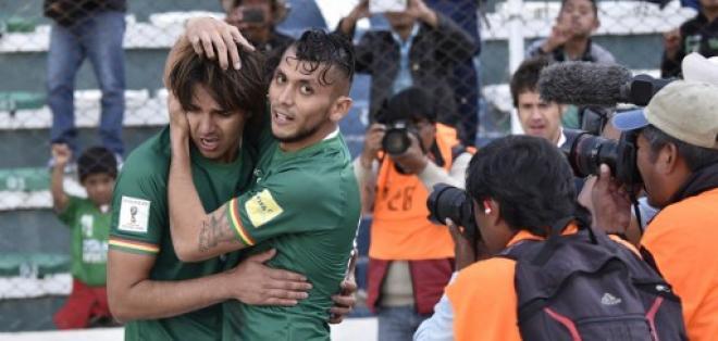 Marcelo Moreno Martins convirtió el único tanto del compromiso. Foto: AFP