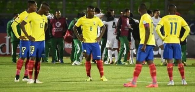 Un total de nueve jugadores de la selección cuentan con una tarjeta amarilla.