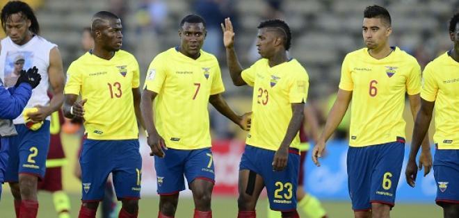 Ecuador no tiene sancionados para enfrentar en marzo de 2017 a Paraguay.