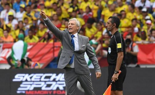 El entrenador argentino está siendo cuestionado por los malos resultados. Foto: AFP