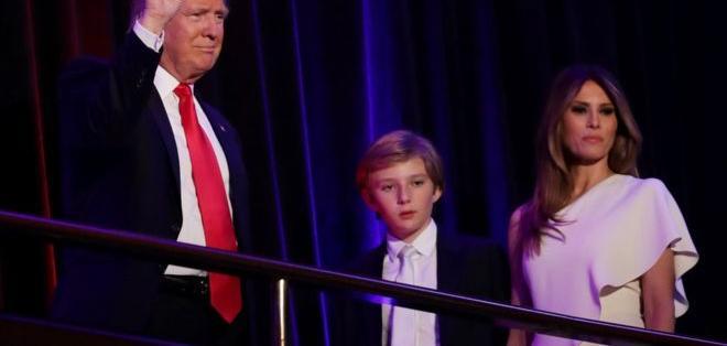 La futura primera dama, Melania Trump, permanecerá en Nueva York por unos meses.
