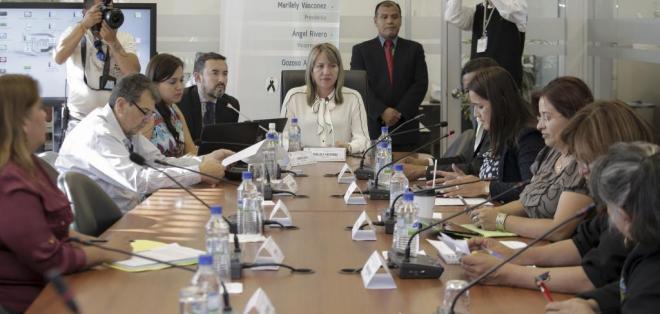 QUITO, Ecuador.-  La presidenta de la Comisión Marllely Vásconez prevé que el proyecto entre a primer debate la próxima semana. Foto: Flickr Asamblea.