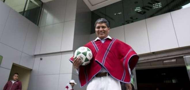 Luis Chango, presidente del club Mushuc Runa, habló sobre las declaraciones de Emiliano Olivero.