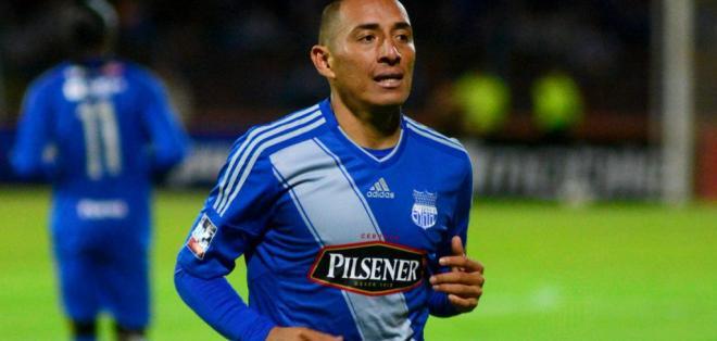 Hólger Matamoros abrió el marcador para Emelec, que empata con Deportivo Cuenca.