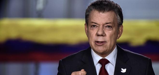 Esta vez la ceremonia será mucho más sencilla en un pequeño teatro de Bogotá. Foto: AFP