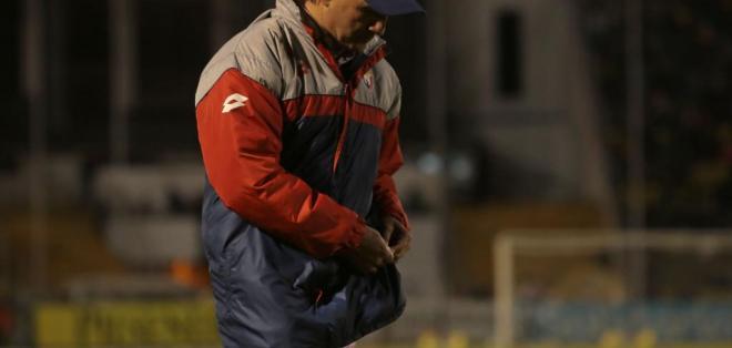 El entrenador uruguayo llegó al 'Nacho' en 2015. Foto: API