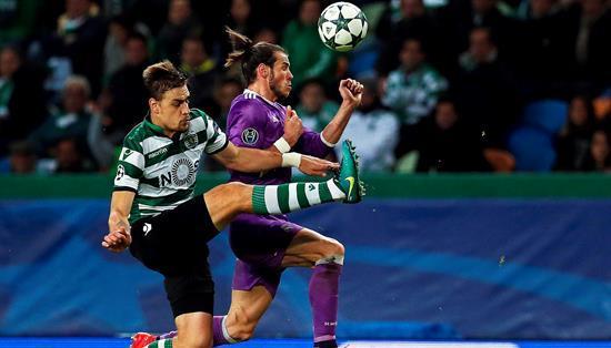 El jugador galés se lesionó en el encuentro ante el Sporting Lisboa. Foto: EFE