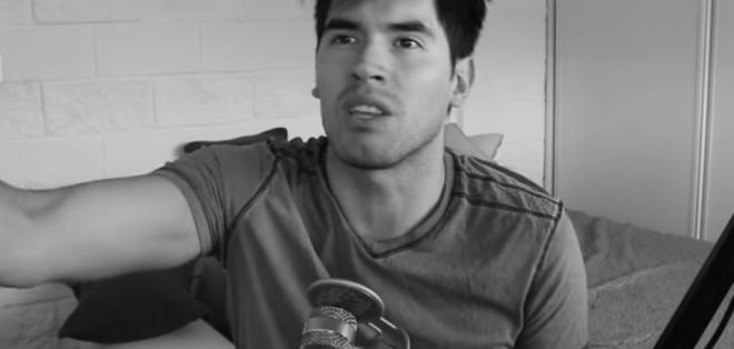 A través de un video, Germán contó una de las partes más duras de su vida.