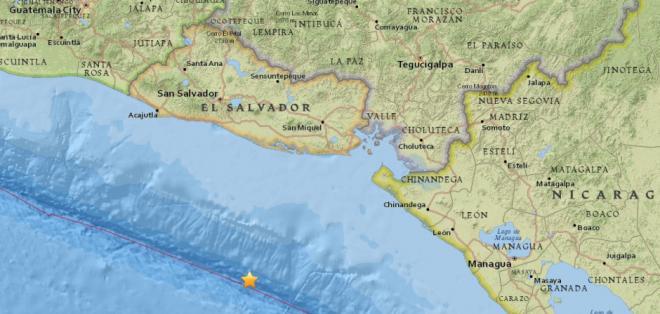 Inocar informa que sismo no tiene condiciones para generar tsunami que afecte a Ecuador.  Foto: USGS