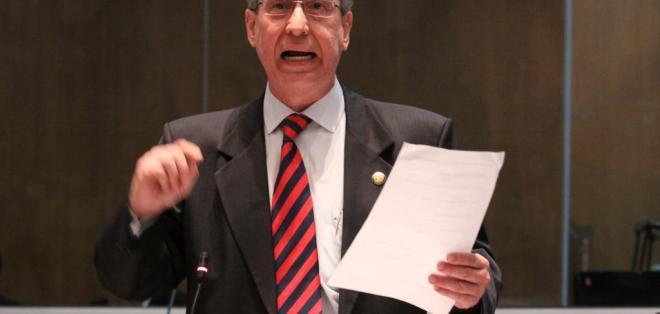 ECUADOR.- El jurista Enrique Herrería explicó los procesos que se siguen contra el exfuncionario. Foto: Archivo