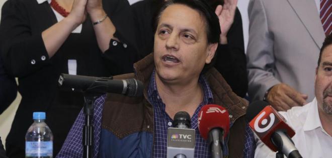 ECUADOR.- El activista político habló de la venta de petróleo ecuatoriano a empresas chinas. Foto: API