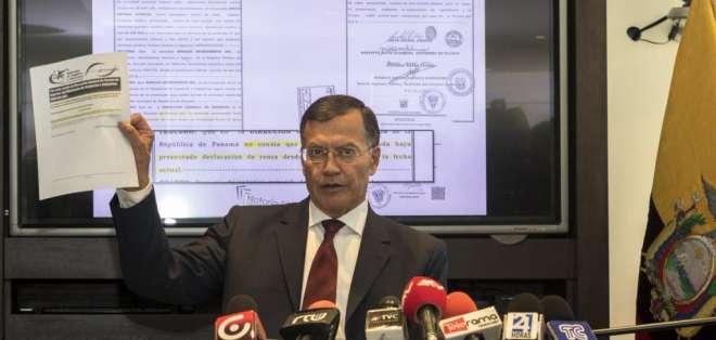 Lenín Moreno cree que Pedro Merizalde debe renunciar y Jorge Glas, que el caso debe archivarse. Foto: newsecuador.ec