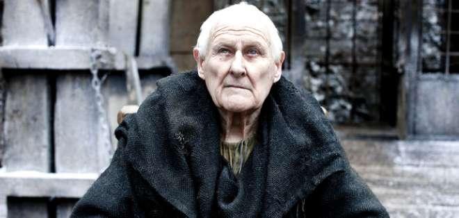 El actor interpretó durante cinco años el personaje del ciego maestro Aemon en 'Game of Thrones'.