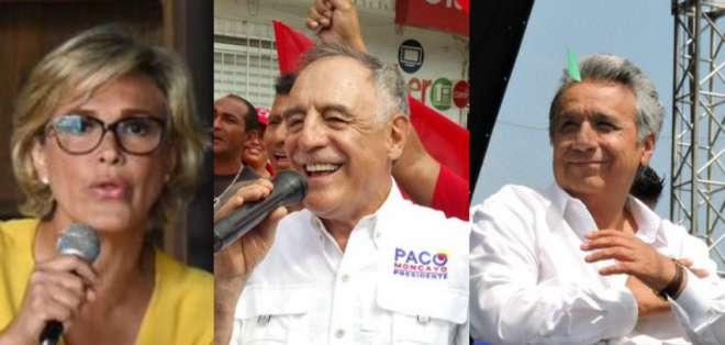 Durante el fin de semana los candidatos presidenciales se concentraron en Guayas.