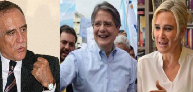 Los candidatos a la presidencia de la República recorrieron Zaruma y Quito para exponer sus propuestas. Foto: Collage.