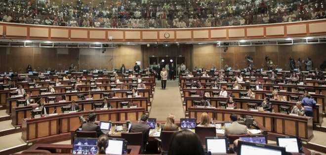 ECUADOR.- El pleno de la Asamblea también revisará la objeción al proyecto de Ley de Cultura. Foto: Archivo