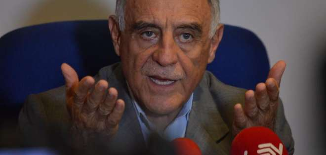 Paco Moncayo sobre pacto ético