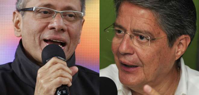 Pedido de Lasso a Glas para que renuncie por escándalos de corrupción generó discusión. Foto: Collage