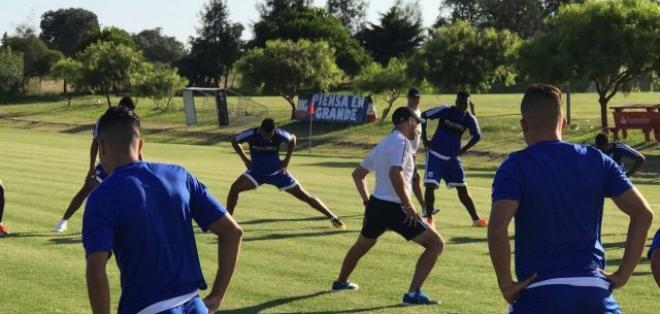 Emelec realiza su pretemporada en Uruguay, donde permanecerá hasta el 25 de enero.