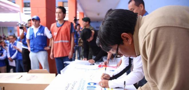 En esta jornada se revisarán las distintas etapas del proceso de sufragio. Foto: @JuanPabloPozoB